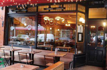 The front of Didsbury restaurant Volta.