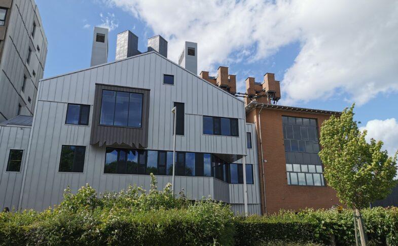 exterior of Contact Theatre building