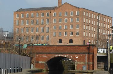 Brownsfield Mill building in Manchester