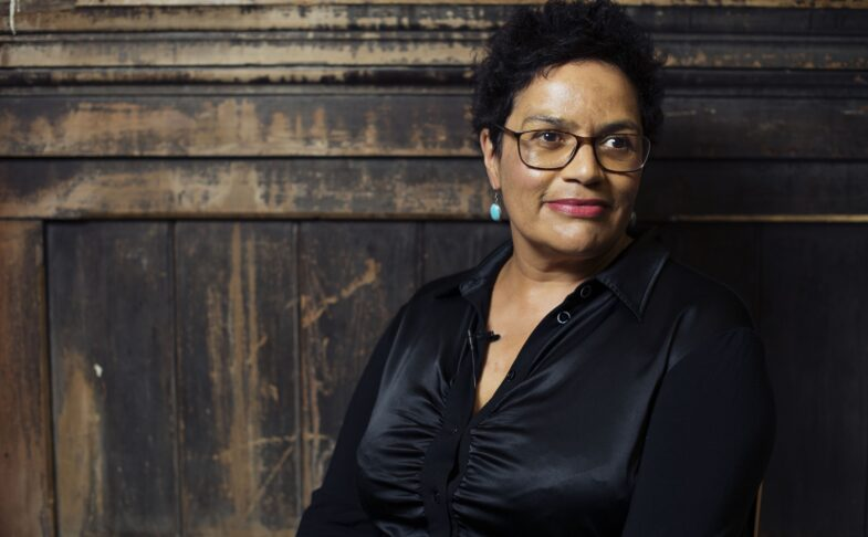 Makar to Makar with Jackie Kay. Photo by Jon Parker Lee, MLF.