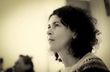 Poet Sasha Dugdale. Photo by Zima Zima