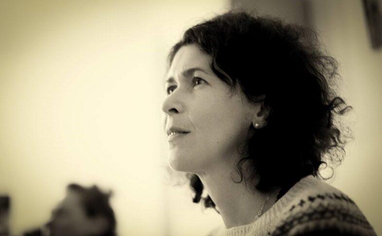 Poet Sasha Dugdale. Photo by Zima Zima