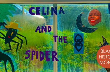 Celina and the Spider Storytime Session at HOME