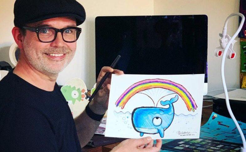 Children's author and illustrator Rob Biddulph
