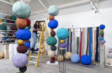 Annie Morris: When A Happy Thing Falls at Yorkshire Sculpture Park